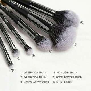 Brush make up focallure 6pcs