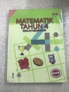 Mathematics Matematik Tahun 4