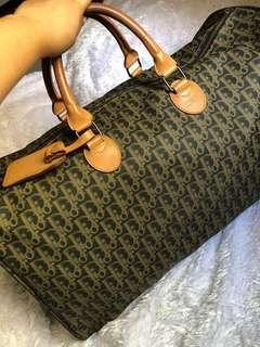 REPRICED Dior Travel Bag