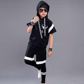 Kid Boys Fashion Clothing 3 pieces outfit sets