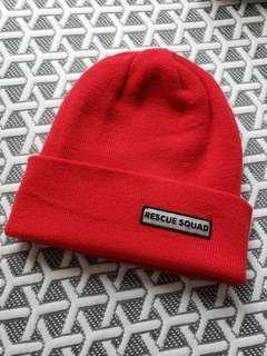 *清屋* 9成新 Rescue Squad 紅色冷帽