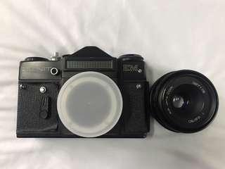 ZENIT EM - Lens Jena DDR 50mm/f2.8 - Color Black