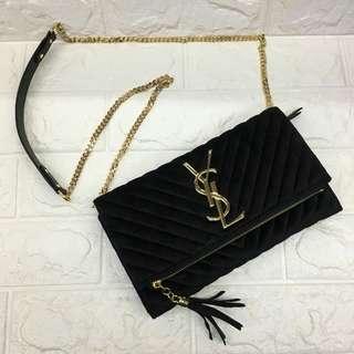 SALE LAST ONE YSL Sling Bag YSL Chain Bag YSL Shoulder Bag Yves Saint  Laurent Bag 6d8ba47c548ec