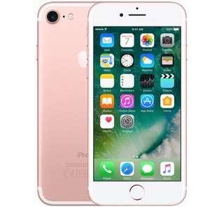 iPhone 7 Rose Gold 128GB unlocked