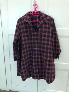 zara loose blouse