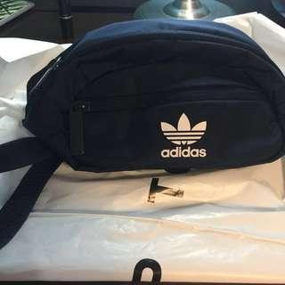 ADIDAS Navy Blue Fanny Pack