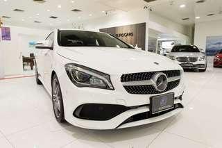 Mercedes-Benz CLA-Class CLA180 AMG Line (A)