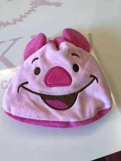 全新 小熊維尼 小豬款 Winnie the Pooh 絨毛束口袋