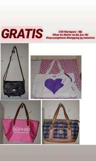 Tas Gratis new And preloved