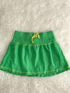 CIRCO green mini skirt flare
