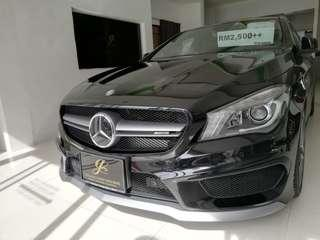 MERCCEDES BENZ CLA45 AMG 4MATIC