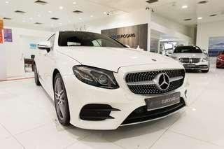 Mercedes-Benz E300 AMG LINE COUPE AUTO