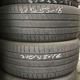 Pre-Owned Michelin 215/55/16 Tyre