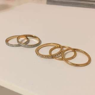 Rings ~ Free in bundle