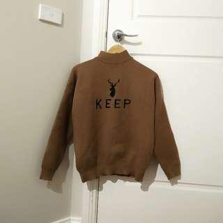 Lovely Brown knit pullover jumper