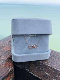Infinity 18K Solid Gold