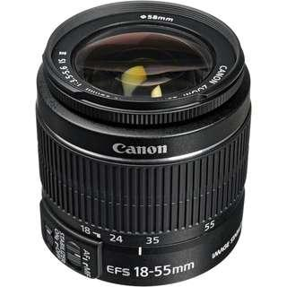 Repair Canon 18-55mm lens Auto focus problem