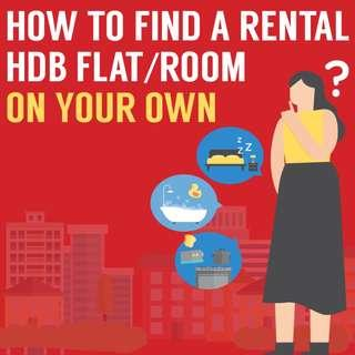 How to Find a Rental Flat / Room on Your Own