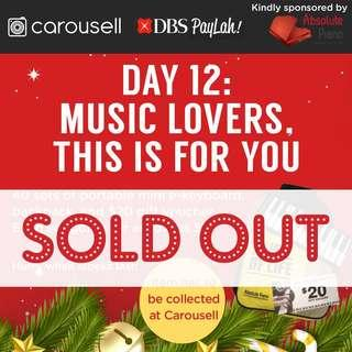 🚚 Day 12: Music lovers, Absolute Piano has ANOTHER amazing deal for you!