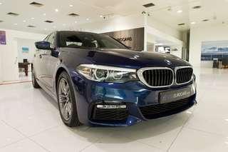 BMW 5 Series Sedan Diesel 520d M Sport (A)