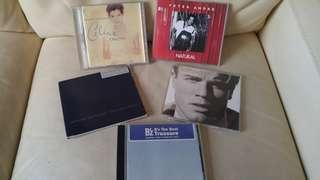 CelineDion GeorgeMichael GaryBarlow CD 共五隻