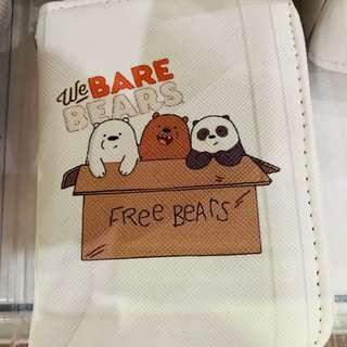 We bare bear small wallet