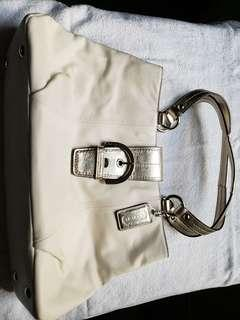 Coach 80%新 金色手袋