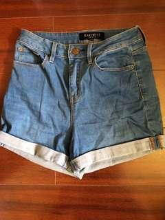 Jeanswest Highwaisted shorts