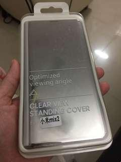 Mix 2 Xiaomi clear view with stand cover