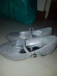 Sparkly dress formal shoes