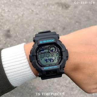 🔥Casio G SHOCK GD-350 Series GD-350-1CR