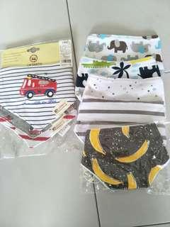 Baby Bibs 3piece at 1price!