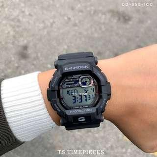 🔥 Casio G SHOCK GD-350 Series GD-350-1CC