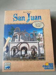 Board Game San Juan  by Rio Grande Games New Sealed