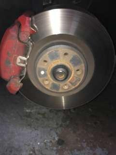 Audi S5 brake kit