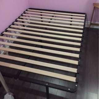 Full (Double) Bedframe) - bought for $140, selling for $45
