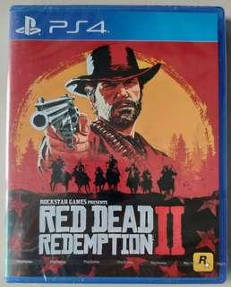 PS4 Red Dead redemption New and Seal
