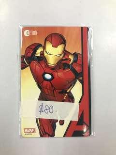 🚚 Vintage Limited Edition Ironman Ezlink Card