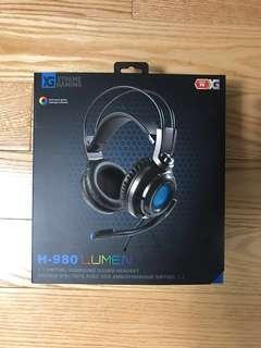 Gaming Headset - H-980 Lumen 7.1 Virtual Surround Sound