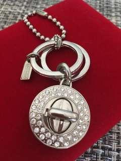 Genuine coach key ring