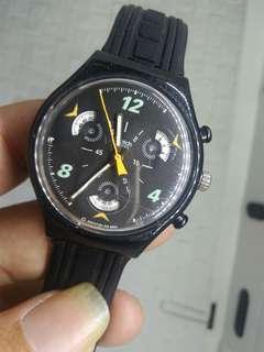 Swatch chrono black Original