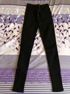 窄管黑褲(厚的)