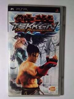 PSP 遊戲碟 GAME DISK TEKKEN DARK RESURRECTION FIGHT