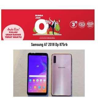 Samsung Galaxy A7 Promo Kredit Bunga Bisa 0% Proses Cepat