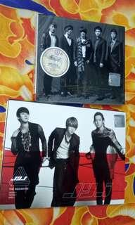 JYJ The Beginning DBSK TVXQ Tohoshinki Mirotic THE FOURTH ALBUM PLATINUM SPECIAL EDITION