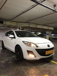 MAZDA 1.6L SDN LUX! Promo Now! Petrol Saver Proven! 18% off petrol Card! Lowest Price! Can Drive Go-Jek/Grab/Ryde/Tada/Sixtnc! Flexible Rental Scheme! Personal User! Call Now!