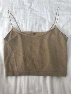 Glassons sparkley crop top