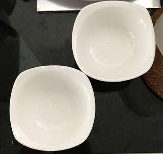 Pair of dessert bowls