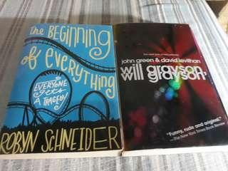 """PRELOVED-THE BEGGINING OF EVERYTHING"""" & """"WILL GRAYSON WILL GRAYSON"""""""