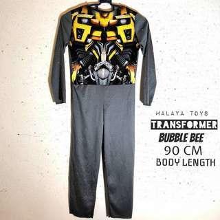 Transformer Bumbble Bee Kids Costume 90 cm